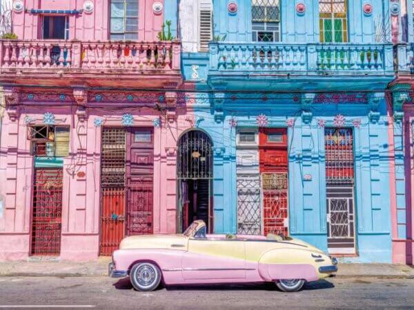 Glasschilderij Cuba